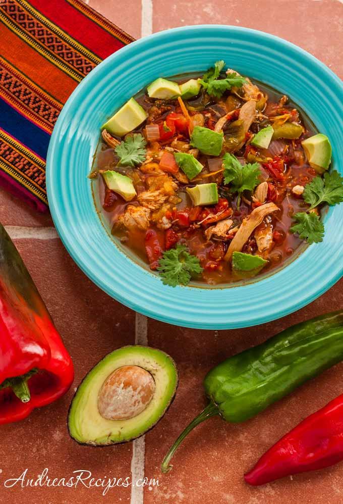 Chicken Tortilla Soup - Andrea Meyers