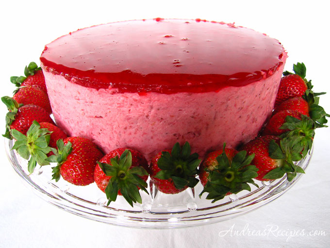 Andrea Meyers - Strawberry Mirror Cake