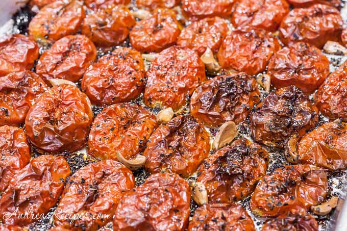 Andrea Meyers - Slow Roasted Tomatoes