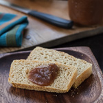 Andrea Meyers - Honey Wheat English Muffin Bread