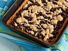 Andrea Meyers - Whole Wheat Oatmeal Peanut Butter Bars with Chocolate Chips