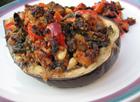 Andrea Meyers - Grilled Stuffed Eggplant
