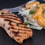 Miso-Marinated Grilled Salmon - Andrea Meyers
