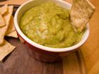 Andrea Meyers - Roasted Tomatillo Jalapeno Salsa with Avocado