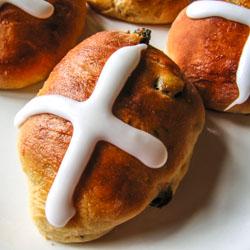 Hot Cross Buns Recipe - Andrea Meyers
