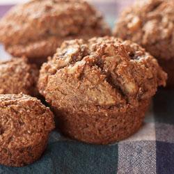 Banana Bran and Toasted Walnut Muffins Recipe - Andrea Meyers