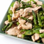 Chicken Stir-Fry with Asparagus and Snow Peas - Andrea Meyers