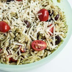 Orzo Salad with Pesto (Good Bite: Everyday Meals with a Twist) - Andrea Meyers