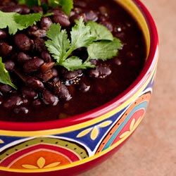 Spicy Mexican Black Beans (The Kids Cook Monday) - Andrea Meyers
