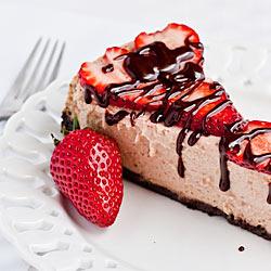 Andrea Meyers - Strawberry Chocolate Cheesecake