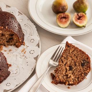 Fig Bundt Cake with Honey Butter Glaze - Andrea Meyers