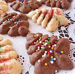Andrea Meyers - Cream Cheese Spritz Cookies