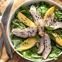 Andrea Meyers - Thai Grilled Chicken Salad with Mango