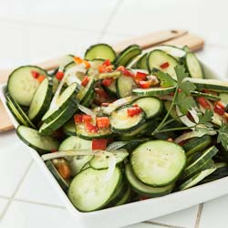 Andrea Meyers - Cucumber Lemon Salad