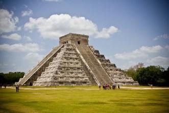 Chichen Itza pyramid in Mexic