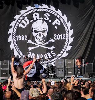 summer rock festival - OSTFEST 2012 in Bucharest
