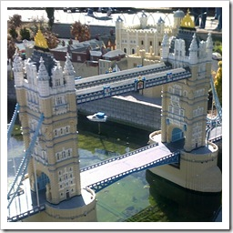 Tower Bridge at Miniland London