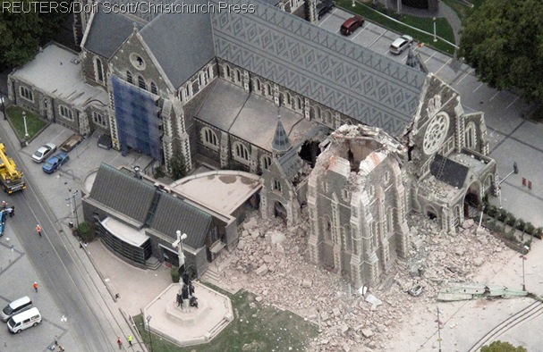 DESTROYED_REUTERS gained this aerial photo of the damage at the Cathedral.