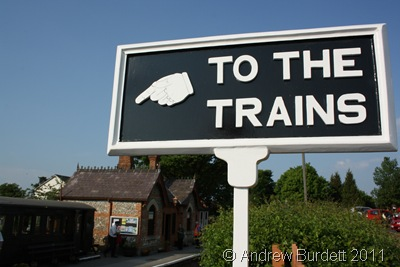 THE STATION'S THIS WAY, SIR_To the trains it was.