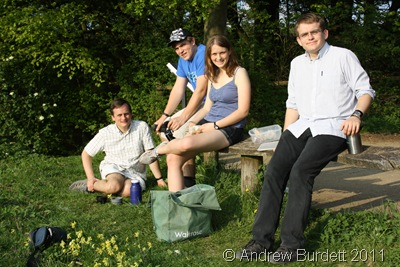 FAMILY DAY OUT_Enjoying the last of Saturday's sunshine at the Aston Rowant Nature Reserve.