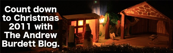 Count down to Christmas 2011 with The Andrew Burdett Blog.