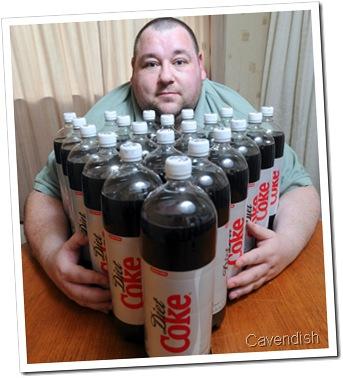 BUT I SAID COKE COKE COKE: Darren Jones has a bizarre adiction to Diet Coke and wants rehab.