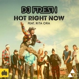 THIS WEEK'S NUMBER ONE: Hot Right Now by DJ Fresh. (Click to play on YouTube.)