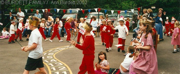 THOSE WERE THE DAYS: Processions at Burchetts Green Infants School in 2002. (June2002_GoldenJubileeBurchettsGreen-1)