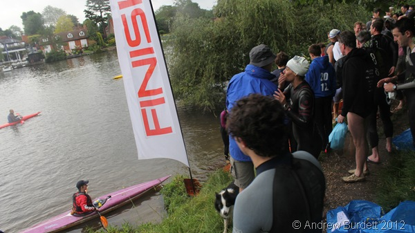 THE FINISHING LINE: Due to the number of people lining the bank, it was impossible to know if I'd beaten my mother. (IMG_6305_ARB-edited)