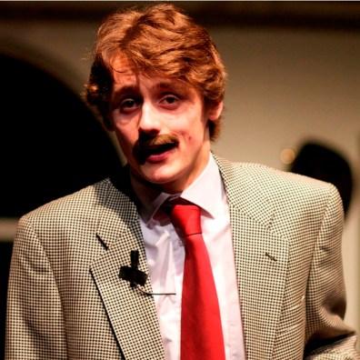 MR MUSHNIK: Ryan Tomlinson plays Mr Mushnik in the production. (IMG_3462_AlexMeade)