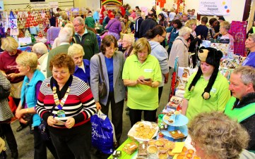 The Charities Fair, now in its 36th year, continues to attract huge crowds. (Photo: © Andrew Burdett 2013)