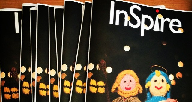 Copies of the latest (Winter 2014/15) edition of InSpire magazine – the parish newsletter of St Luke's Church, Maidenhead.