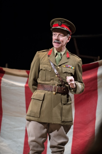 Jamie Newall as Colonel Faulkner in 'The Christmas Truce'.