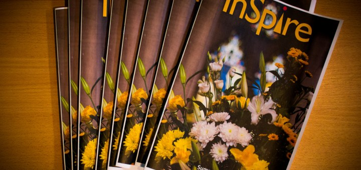 Copies of the latest (Summer 2015) edition of InSpire magazine – the parish newsletter of St Luke's Church, Maidenhead.