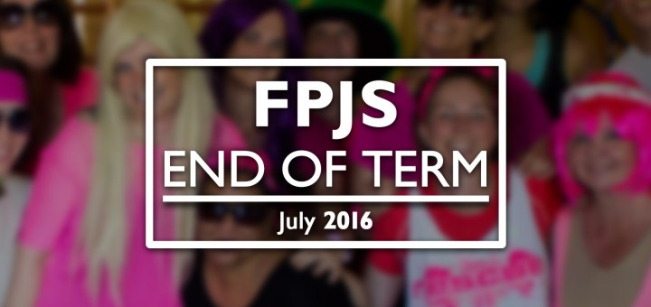 Titlecard for FPJS's end-of-term 2016 film.