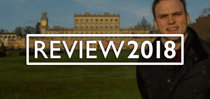 Titlecard for Andrew Burdett's 2018 Review of the Year.