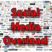 Social Media Overload. So many platforms, so little time.
