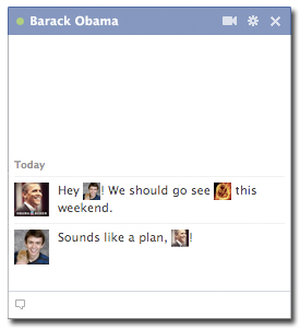 My Facebook Chat With Obama. We're Pals.