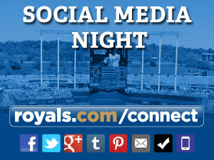 Kansas City Royals Social Media Properties. Courtesy of KC Royals.