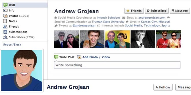 Keep Your Old Facebook Profile With A Creative Timeline Design