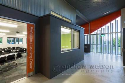 Interior image of Senior Learning Centre building at Trinity Beach State School