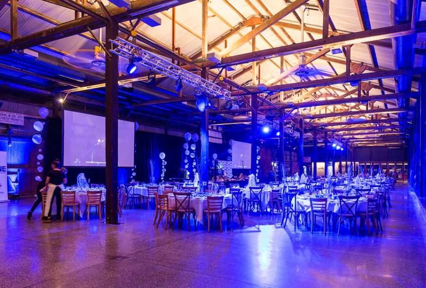 Image of room setup for Forty Winks National Conference Gala Dinner