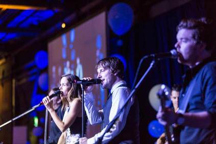 Image of band performance at Forty Winks National Conference Gala Dinner