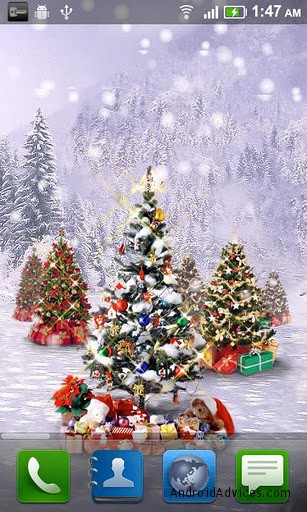 7 Best Christmas Live Wallpapers for Android - Lighten up your Screens - Android Advices