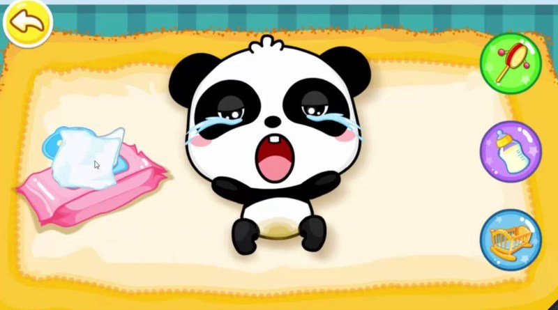 Android games for kids 2016 Baby Panda care kids – Kids learning videos
