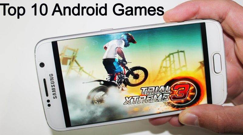 Top 10 Free HD Android Games 2015 in Market