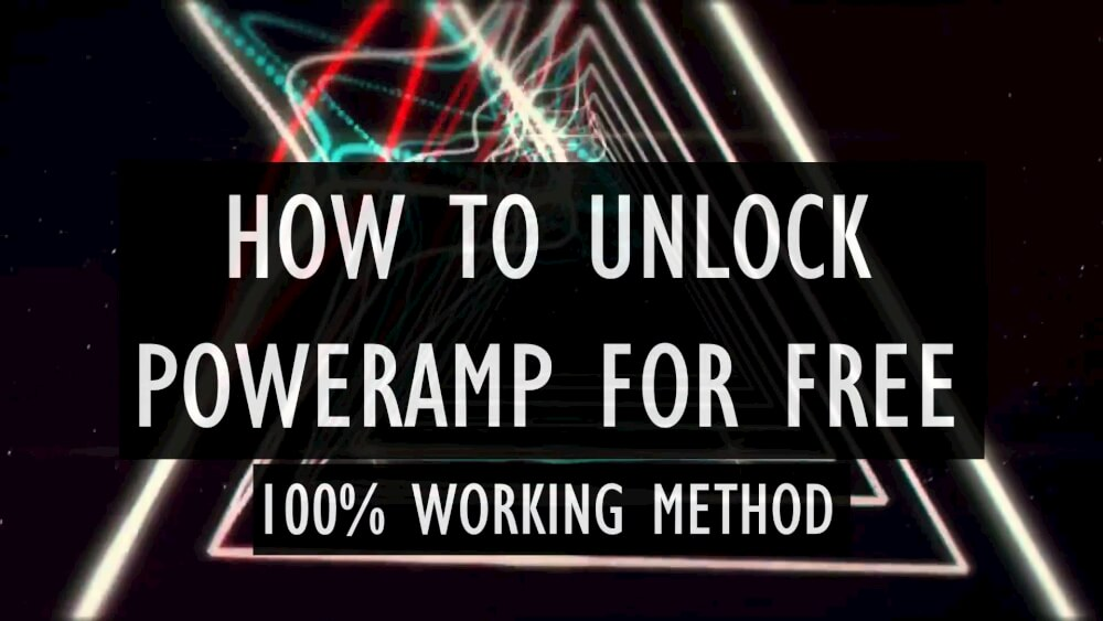 How to Unlock PowerAMP full version with Lucky Patcher