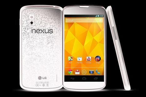 The newest handset by Nexus-White Nexus 4