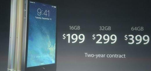 iPhone 5S prices