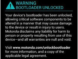 Unlock Bootloader of Moto G